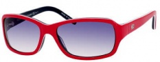 Tommy Hilfiger T_hilfiger 1148/S Sunglasses Sunglasses - 0UNL Red / White / Blue / Dark Blue Gradient Lens