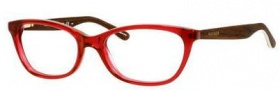 Tommy Hilfiger 1246 Eyeglasses Eyeglasses - 01KW Burgundy / Wood