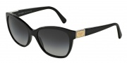 Dolce & Gabbana DG4195 Sunglasses Sunglasses - 501/8G Black / Gray Gradient Lens