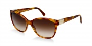 Dolce & Gabbana DG4195 Sunglasses Sunglasses - 706/13 Light Havana / Brown Gradient Lens