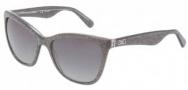 Dolce & Gabbana DG4193 Sunglasses Sunglasses - 2754T3 Glitter Gray / Polarized Gray Gradient Lens