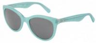 Dolce & Gabbana DG4192 Sunglasses Sunglasses - 274087 Glitter Green / Gray Lens