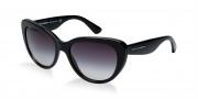 Dolce & Gabbana DG4189 Sunglasses Sunglasses - 501/8G Black / Grey Gradient Lens