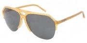 Dolce & Gabbana DG4178 Sunglasses Sunglasses - 652/87 Honey / Grey Lens