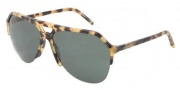 Dolce & Gabbana DG4178 Sunglasses Sunglasses - 512/71 Light Havana / Green Lens