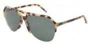 Dolce & Gabbana DG4178 Sunglasses Sunglasses - 512/71 Light Havana / Green Lens