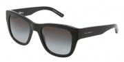 Dolce & Gabbana DG4177 Sunglassses Sunglasses - 501/8G Black / Gray Gradient Lens
