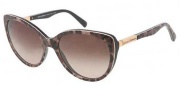 Dolce & Gabbana DG4175 Sunglasses Sunglasses - 199513 Havana / Brown Gradient Lens
