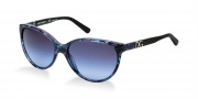 Dolce & Gabbana DG4171P Sunglasses Sunglasses - 26898F Blue Marble / Grey Blue Gradient Lens