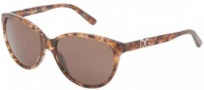 Dolce & Gabbana DG4171P Sunglasses Sunglasses - 255073 Brown Marble / Brown Lens