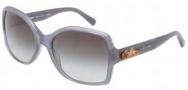 Dolce & Gabbana DG4168 Sunglasses Sunglasses - 26768G Opal Grey / Grey Gradient Lens