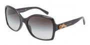 Dolce & Gabbana DG4168 Sunglasses Sunglasses - 501/8G Black / Grey Gradient Lens