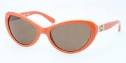 Tory Burch TY9030 Sunglasses Sunglasses - 123473 Orange / Brown Solid