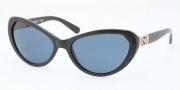 Tory Burch TY9030 Sunglasses Sunglasses - 50172 Black / Blue Solid