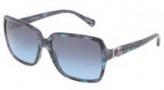 Dolce & Gabbana DG4164P Sunglasses Sunglasses - 25518F Blue Marble / Grey Blue Gradient Lens