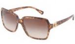 Dolce & Gabbana DG4164P Sunglasses Sunglasses - 255013 Brown Marble / Brown Gradient Lens