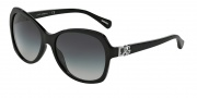 Dolce & Gabbana DG4163P Sunglasses Sunglasses - 501/8G Black / Gray Gradient Lens