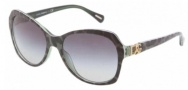Dolce & Gabbana DG4163P Sunglasses Sunglasses - 26588G Leopard Green / Gray Gradient Lens