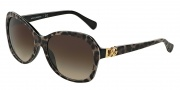 Dolce & Gabbana DG4163P Sunglasses Sunglasses - 199513 Leopard / Brown Gradient Lens
