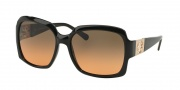 Tory Burch TY9027 Sunglasses Sunglasses - 50195 Black / Grey Orange Faded
