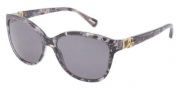 Dolce & Gabbana DG4162P Sunglasses Sunglasses - 265481 Grey Marble / Polarized Grey Gradient Lens