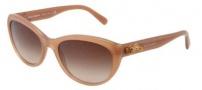 Dolce & Gabbana DG4160 Sunglasses Sunglasses - 267813 Opal Camel Beige / Brown Gradient Lens
