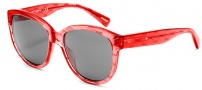 Dolce & Gabbana DG4159P Sunglasses Sunglasses - 266187 Burgundy on Red / Grey Lens