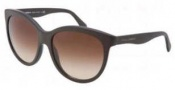 Dolce & Gabbana DG4149 Sunglasses Sunglasses - 258213 Matte Brown / Brown Gradient Lens