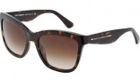 Dolce & Gabbana DG4140 Sunglasses Sunglasses - 199513 Leopard / Brown Gradient Lens