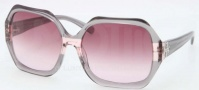 Tory Burch TY7051 Sunglasses Sunglasses - 11288H Grey Rose Striped / Burgundy Gradient