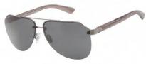 Dolce & Gabbana DG2124 Sunglasses Sunglasses - 121687 Matte Gunmetal / Gunmetal / Grey Lens