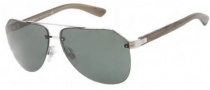 Dolce & Gabbana DG2124 Sunglasses Sunglasses - 121871 Silver / Green Lens