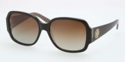 Tory Burch TY7047 Sunglasses Sunglasses - 1145T5 Black / Brown Gradient Polarized