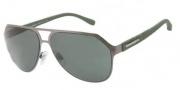 Dolce & Gabbana DG2123 Sunglasses Sunglasses - 118871 Gunmetal / Green Lens