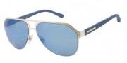 Dolce & Gabbana DG2123 Sunglasses Sunglasses - 118755 Silver / Blue Mirror Lens