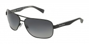 Dolce & Gabbana DG2120P Sunglasses Sunglasses - 1169T3 Black / Polarized Gray Gradient Lens