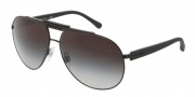 Dolce & Gabbana DG2119 Sunglasses Sunglasses - 11848G Matte Black / Gray Gradient Lens