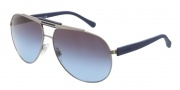 Dolce & Gabbana DG2119 Sunglasses Sunglasses - 11898F Gunmetal / Grey Blue Gradient Lens