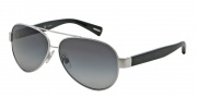Dolce & Gabbana DG2118P Sunglasses Sunglasses - 1194T3 Silver / Polarized Grey Gradient Lens