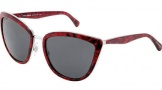Dolce & Gabbana DG2113 Sunglasses Sunglasses - 114887 Silver / Red / Grey Lens