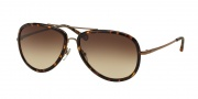 Tory Burch TY6025 Sunglasses Sunglasses - 441/13 Bronze Tortoise / Brown Gradient