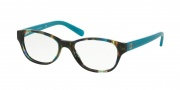 Tory Burch TY2031 Eyeglasses Eyeglasses - 3153 Blue Brown Tort / Blue Lark /