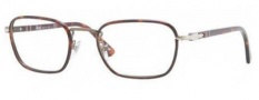 Persol PO2423VJ Eyeglasses Eyeglasses - 992 Matte Dark Brown