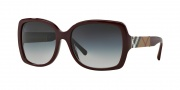 Burberry BE4160 Sunglasses Sunglasses - 34038G Bordeaux / Gray Gradient