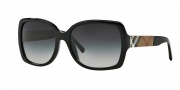 Burberry BE4160 Sunglasses Sunglasses - 34338G Black / Gray Gradient
