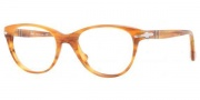 Persol PO3036V Eyeglasses Eyeglasses - 960 Striped Brown