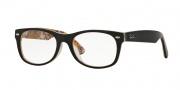 Ray Ban RX5184F Eyeglasses Eyeglasses - 5409 Top Havana on Texture