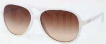 Coach HC8073 Sunglasses Daisy Sunglasses - 511213 White / Brown Gradient