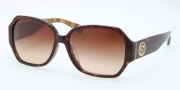 Coach HC8062F Sunglasses Melissa Sunglasses - 512013 Dark Tortoise / Brown Gradient