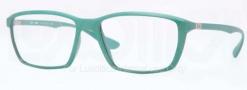 Ray Ban RX7018 Eyeglasses Eyeglasses - 5252 Matte Green